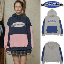 AMES-WORDWIDE★ NEW LOGO COLOR BLOCK フーディ - 2カラー