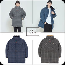 [ROMANTIC CROWN]★韓国大人気★ CHESTERFIELD CHECK PARKA