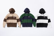 【送料関税込】Supreme Nike Stripe Hooded Sweatshirt