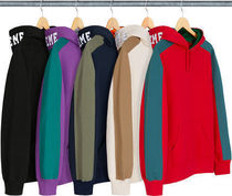 【送料関税込】Supreme Paneled Hooded Sweatshirt