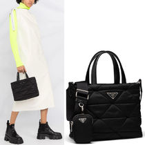 PR2485 PADDED NYLON TOTE WITH POUCH