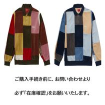 【送料関税込】Supreme Patchwork Velour L/S Polo