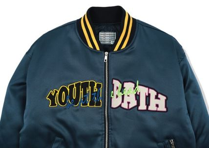 YOUTHBATH ブルゾン ★YOUTHBATH★LOGO MA-1 FLIGHT BOMBER JACKE.T★ジャケット★(3)