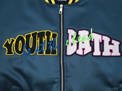 YOUTHBATH ブルゾン ★YOUTHBATH★LOGO MA-1 FLIGHT BOMBER JACKE.T★ジャケット★(5)