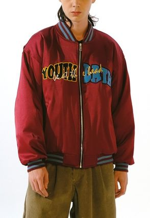 YOUTHBATH ブルゾン ★YOUTHBATH★LOGO MA-1 FLIGHT BOMBER JACKE.T★ジャケット★(17)