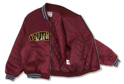 YOUTHBATH ブルゾン ★YOUTHBATH★LOGO MA-1 FLIGHT BOMBER JACKE.T★ジャケット★(19)