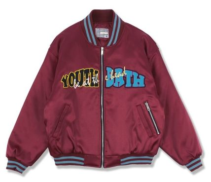 YOUTHBATH ブルゾン ★YOUTHBATH★LOGO MA-1 FLIGHT BOMBER JACKE.T★ジャケット★(20)