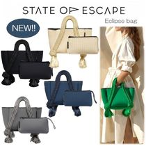 State of Escape(ステイトオブエスケープ) トートバッグ 【新作】★State of Escape★Eclipse bag★エクリプス バッグ♪