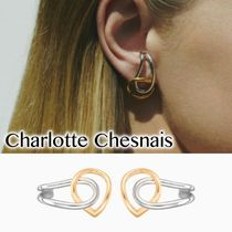 送料込 CHARLOTTE CHESNAIS ☆Blaue Earrings ピアス