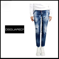 (ディースクエアード)DSQUARED2 JENNIFER CROPPED JEAN 75LB0384