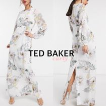 【TED BAKER】レーストリムマキシドレス 送料・関税込み