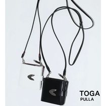 国内即発【TOGA PULLA】LEATHER SHOULDER WALLET