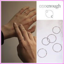 【ONE ENOUGH】Wave RIng Set〜リング5個セット