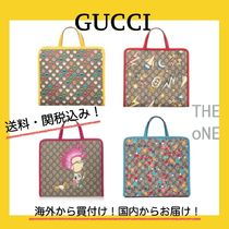 【GUCCI】Children's GG tote bag トートバッグ