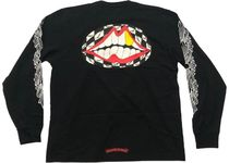Chrome Hearts Matty Boy Flower Chomper L/S T-Shirt Black