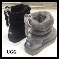 【UGG】クラシックミニFLUFF QUILTED BOOTムートンブーツ