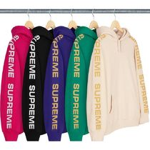 【送料関税込】Supreme Metallic Rib Hooded Sweatshirt