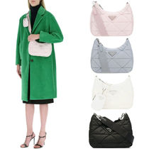 PR2494 PADDED NYLON SHOULDER BAG WITH POUCH