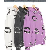 【送料関税込】Supreme Studded Collars Hooded Sweatshirt