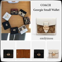 限定販売 COACH★Georgie Small Wallet