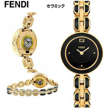 特価!FENDI  My Way Gold-Tone Black セラミック F353421001