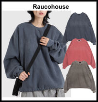 【RAUCOHOUSE】Pigment Embroidered Sweatshirt MTM T-shirt