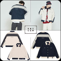 [ROMANTIC CROWN]★韓国大人気★ BACK LOGO TRUCKER JACKET