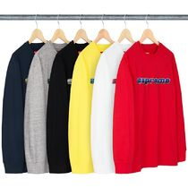 【送料関税込】Supreme Chrome Logo L/S Top