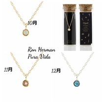 Ron Herman取扱★Kris Nations 10~12月 誕生石ネックレス 送料込