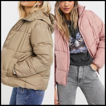 New Look hooded boxy puffer jacket