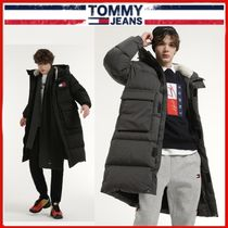 ◆TOMMY JEANS◆バッジロングダウンコート 全2色◆正規品◆