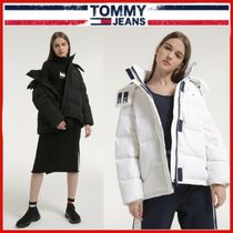 ◆TOMMY JEANS◆Oversized hooded goose down jacket◆正規品◆