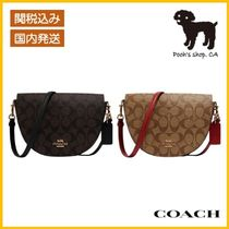【COACH】Ellen Crossbody In Signature Canvas◆国内発送◆