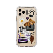 ★SHARON6★2020韓国の人気★IPHONE CASE HAPPY BEAR
