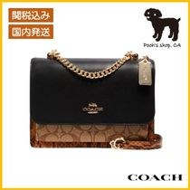 【COACH】Klare Crossbody In Blocked Signature◆国内発送◆