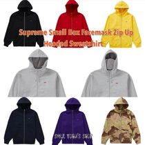 ★20AW★Supreme Small Box Facemask Zip Up Hooded Sweatshirt