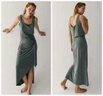 Massimo Dutti【NEW】Cupro skirt with knot detail