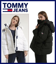 Tommy Hilfiger(トミーヒルフィガー) ダウンジャケット・コート 【TOMMY JEANS】 Oversized hooded goose down jacket★2色