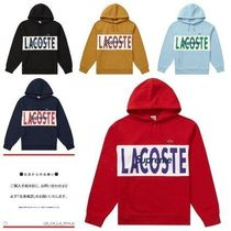 【送料関税込】Supreme LACOSTE Logo Panel Hooded Sweatshirt