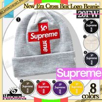 20FW /Supreme New Era Cross Box Logo Beanie ボックス ロゴ