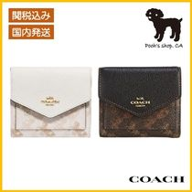 【COACH】Small Wallet With Horse And Carriage◆国内発送◆