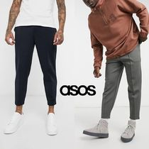 【送料無料】ASOS smart tapered joggers fixed hem 【関税込】
