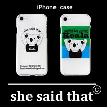 韓国『she said that』Koala iPhone Case アイフォンケース