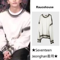 【Rauco House】side spray sweatshirt ★Seventeen 着用★