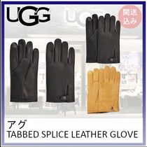 UGG*TABBED SPLICE LEATHER GLOVE*25-30cm 関送込み