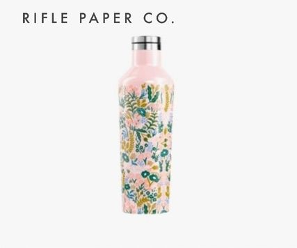 Rifle Paper.Co タンブラー ≪ RIFLE PAPER CO.×CORKCICLE.  ≫  CANTEEN TAPESTRY 16oz