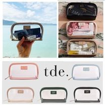 The Daily Edited(ザ デイリー エディテッド) ポーチ ☆世界に1つ☆【The Daily Edited】Clear cosmetic case