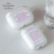 the Exquisite Archive★things (lavender) エアーポッズケース