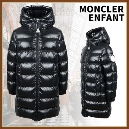 MONCLER 8A/10A ENFANT】 子ども用 キッズアウター Berry ロングダウン ...