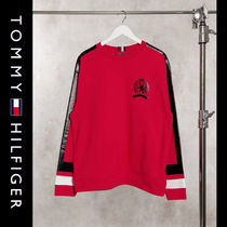 SALE【Tommy Hilfiger】ロゴ スウェット レッド / 送料無料